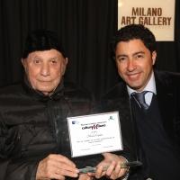 Il Dottor Nicola Caputo riceve un'importante onorificenza alla carriera alla Milano Art Gallery