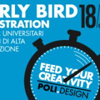 POLI.design EARLY BIRD REGISTRATION: GIOCA D'ANTICIPO