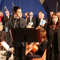 Enrico Nadai e Dino Doni in concerto al SandNativity2015 a Jesolo (Ve)