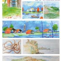 Giorgio Gristina: dal 12 al 25 febbraio 50 opere in mostra alla Libreria del Mare di Palermo