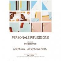 La mostra personale di Francesca Tosi.