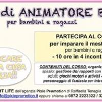 """PIXIE PROMOTION ORGANIZZA A LANCIANO IL CORSO DI """"ANIMATORE DI BASE"""""""