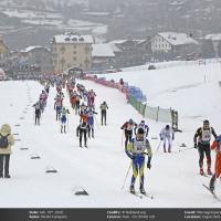 La 35ª Marciagranparadiso Rossignol Race regala neve e spettacolo a Cogne con le vittorie di Clementi e Brocard che emergono su quasi 800 partenti.