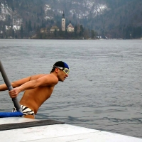 La Winter Swimming Cup nelle acque di Bled