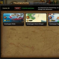 In Pirate Legends lassen sich Piraten ans Meer plündern