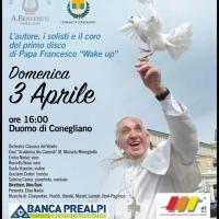 Enrico Nadai ospite al concerto per Papa Francesco a Conegliano (TV)