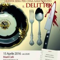 Maeli Cafè, cena con delitto alla Spezia e il giallo comincia già dall'aperitivo