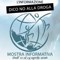 """DOPO L'ECCELLENTE RISULTATO DELLA PRIMA EDIZIONE RITORNA AD ABANO TERME LA MOSTRA """"DICO NO ALLA DROGA"""""""