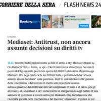 Infront diritti TV: Antitrust, al momento nessuna decisione