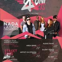SABATO 7 MAGGIO  CALONI4ARTS FESTIVAL CON CONCERTO DI NADA @ A TOYS ORCHESTRA presso ALCATRAZ Milano