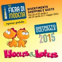 L'inglese per i bambini di Hocus&Lotus arriva anche alla Fiera di Modena aprile 2016