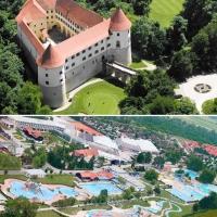 Primavera a Catez:  soggiorno in castello e relax termale nel più grande parco acquatico outdoor