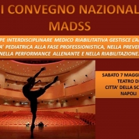 A Napoli la terza edizione del Convegno Nazionale Madss Medicina Arte Danza Spettacolo Scienza