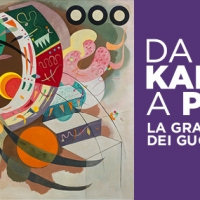 """""""Da Kandinsky a Pollock. La grande arte dei Guggenheim"""" in corso fino a luglio al Palazzo Strozzi."""