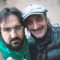 Piotta in radio con Tonino Carotone,