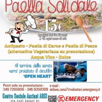 Paella solidale per Emergency a Palazzolo Milanese