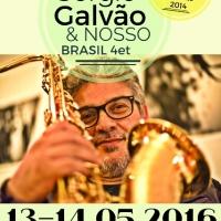 Sérgio Galvão & Nosso Brasil Quartet, il jazz brasiliano conquista l'Elegance Cafè
