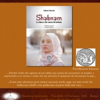 Shabnam, la donna che venne da lontano all'Enoteca Letteraria