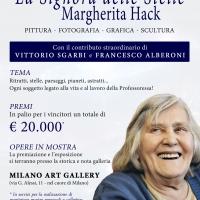 A Margherita Hack dedicato un concorso d'arte presso la storica Milano Art Gallery