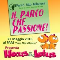 Giornata europea dei parchi al PAM il 22 Maggio 2016