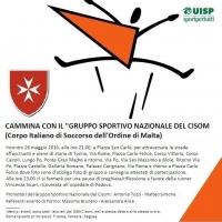 """Camminata serale Move Week con il """"Gruppo Sportivo Nazionale"""" CISOM"""