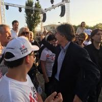 Alfio Marchini Sindaco alla Festa del Cuore,