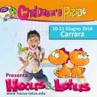 Children's Pride, la festa dei diritti dei bambini il 10 e 11 Giugno a Carrara