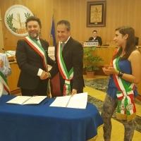 PETRALIA SOPRANA. SIGLATO PATTO DI AMICIZIA CON LORETO (AN)