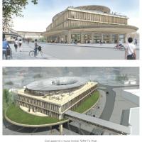 """Il progetto dell'architetto giapponese Shigeru Ban  vince il contest di progettazione per il nuovo """"mondo TEAM 7"""""""