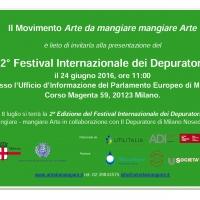 Conferenza di Presentazione del 2 Festival Internazionale dei Depuratori