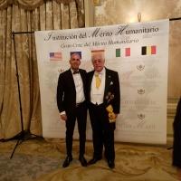 Riconoscimento a Danilo Gigante della Gran Croce al Merito Umanitario