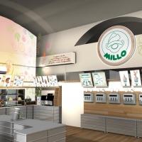 Pubblimarket2 firma l'immagine coordinata del nuovo locale Millo a Trieste