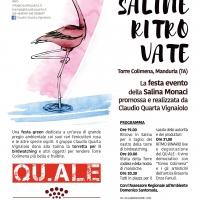 LE SALINE RITROVATE: A TORRE COLIMENA LA FESTA DELLA SALINA DEI MONACI