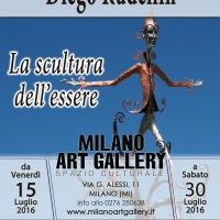 Milano Art Gallery: Diego Rudellin propone la sua arte scultorea