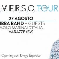 ZIBBA BAND live con ANDRO dei NEGRAMARO: sabato 27 agosto alle ore 21 @ Molo Marinai D'Italia, Varazze (Sv)