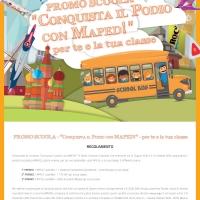 """PROMO SCUOLA - """"Conquista il Podio con MAPED!"""" - per te e la tua classe"""