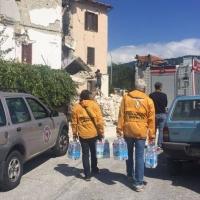I Ministri Volontari di Scientology in aiuto dei terremotati di Amatrice ed Accumoli.