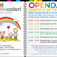 Open Day DimilleColori 17 Settembre