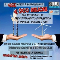 Incentivi Nuovo Conto Termico 2.0 SPORTELLO a NAPOLI
