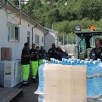 Acquaviva Italia: prime consegne ad Amatrice