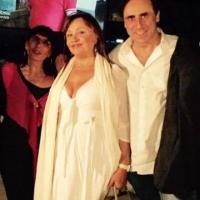 Antonello De Pierro e Adriana Russo omaggiano Scola all'Isola del Cinema