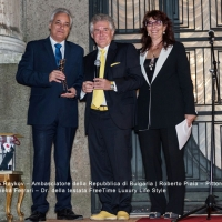 Roberto Piaia Eccellenza made in Italy all'Ambasciata Bulgara di Roma
