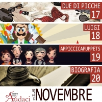 Appiccicaticci in scena dal 17 al 20 novembre al Teatro degli audaci