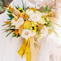 Burnt Orange And Mustard Yellow Wedding Inspiration