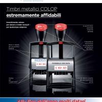 PROMO INVERNO: TIMBRI in METALLO COLOP