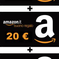 Amazon regala 60 euro in Buoni Sconto