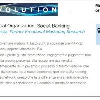 """Sharing Economy, Social Organization, Social Banking"", incontro a Milano mercoledì 9 novembre 2016 alle ore 12"