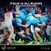 """Rugby: Azzurri vs All Blacks, con Chin8, Limoncedro, Aranciosa e Gassosa i tifosi saranno """"Neri"""""""