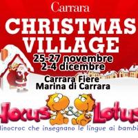 Hocus&Lotus al Carrara Christmas Village 25-27 novembre e 2-4 dicembre 2016