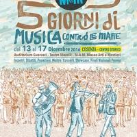 5 Giorni di Musica contro le mafie - Cosenza dal 13 al 17 dicembre 2016